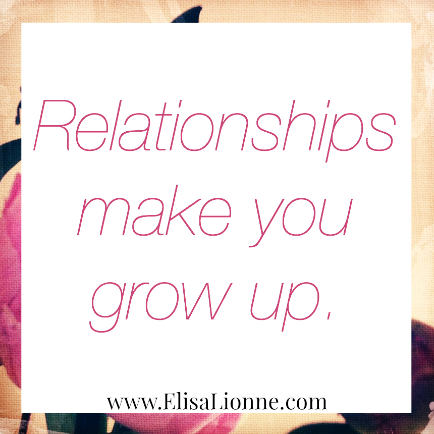 how to make a relationship grow