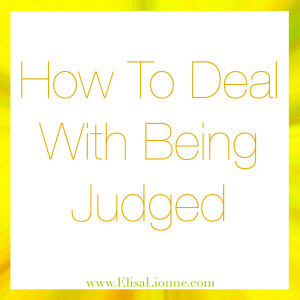 How To Deal With Being Judged Q