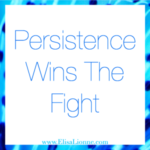 Persistence Wins The Fight Q